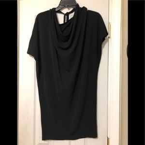 NWOT Blk Mini Dress Sz.Med